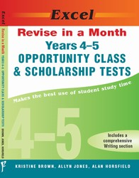 Revise in a Month Opportunity Class and Scholarship Tests Years 4-5