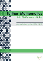 2017 Summary Notes for Further Mathematics Units 3 & 4