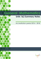2017 Summary Notes for General Mathematics Units 1 & 2