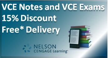 VCE Notes and Study Guides
